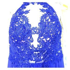 Gorgeous Royal Blue Jovani gown